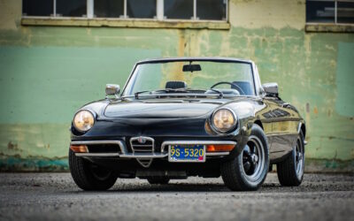 '69 Alfa Spider 1750 Duetto – Nothing gonna stop me now !