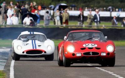 Ferrari 250 GTO vs Maserati Tipo 151 : Battle à Goodwood