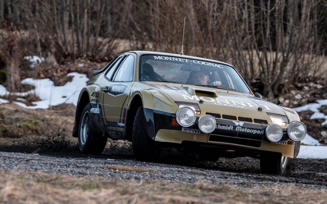 '81 Porsche 924 Carrera GTS Rallye… L'arme de Walter !