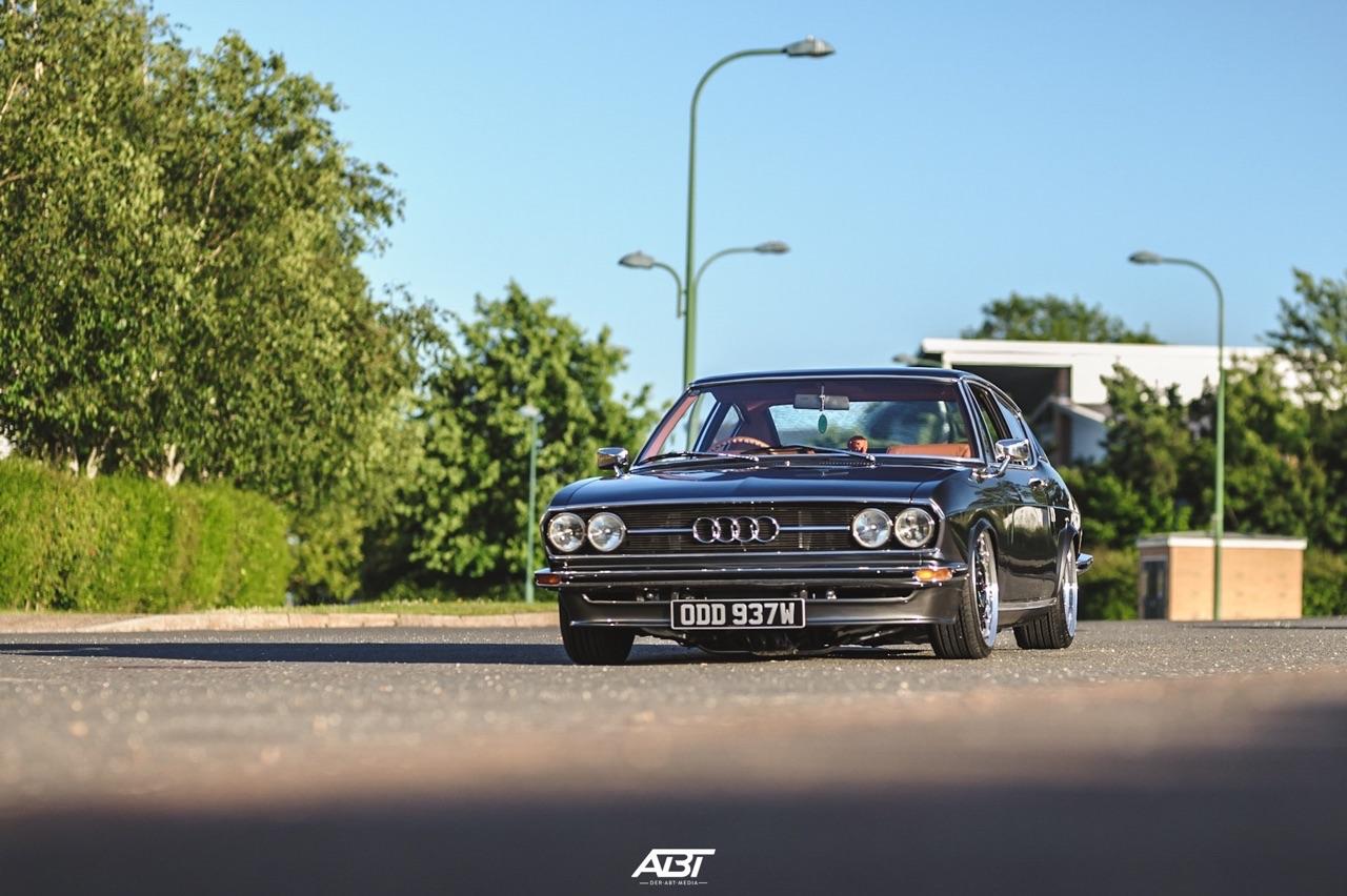 Bagged Audi 100 Coupé S... Best of Show ! 48
