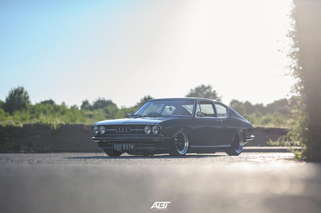 Bagged Audi 100 Coupé S... Best of Show ! 53