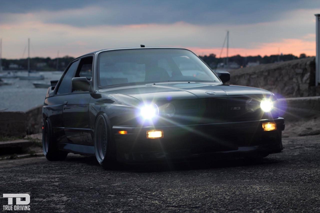 '88 BMW M3 E30... Le static c'est fantastique ! 8