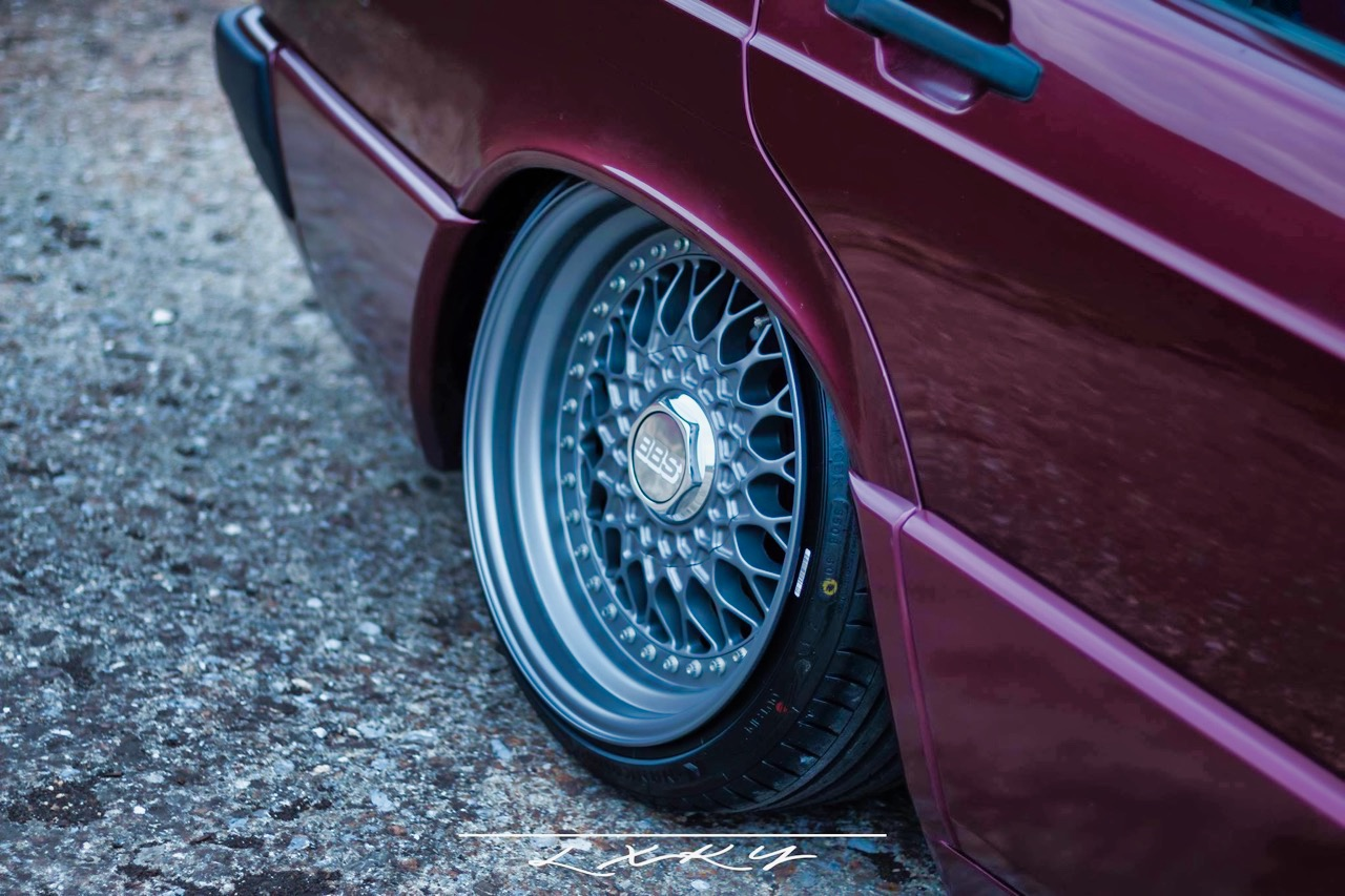 Bagged Mercedes 190 Avantgarde Rosso - Une occasion rare ! 11