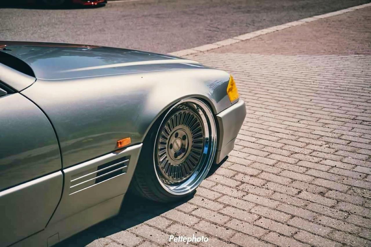 Bagged Mercedes 500 SL - Faut qu'ça raye ! 9