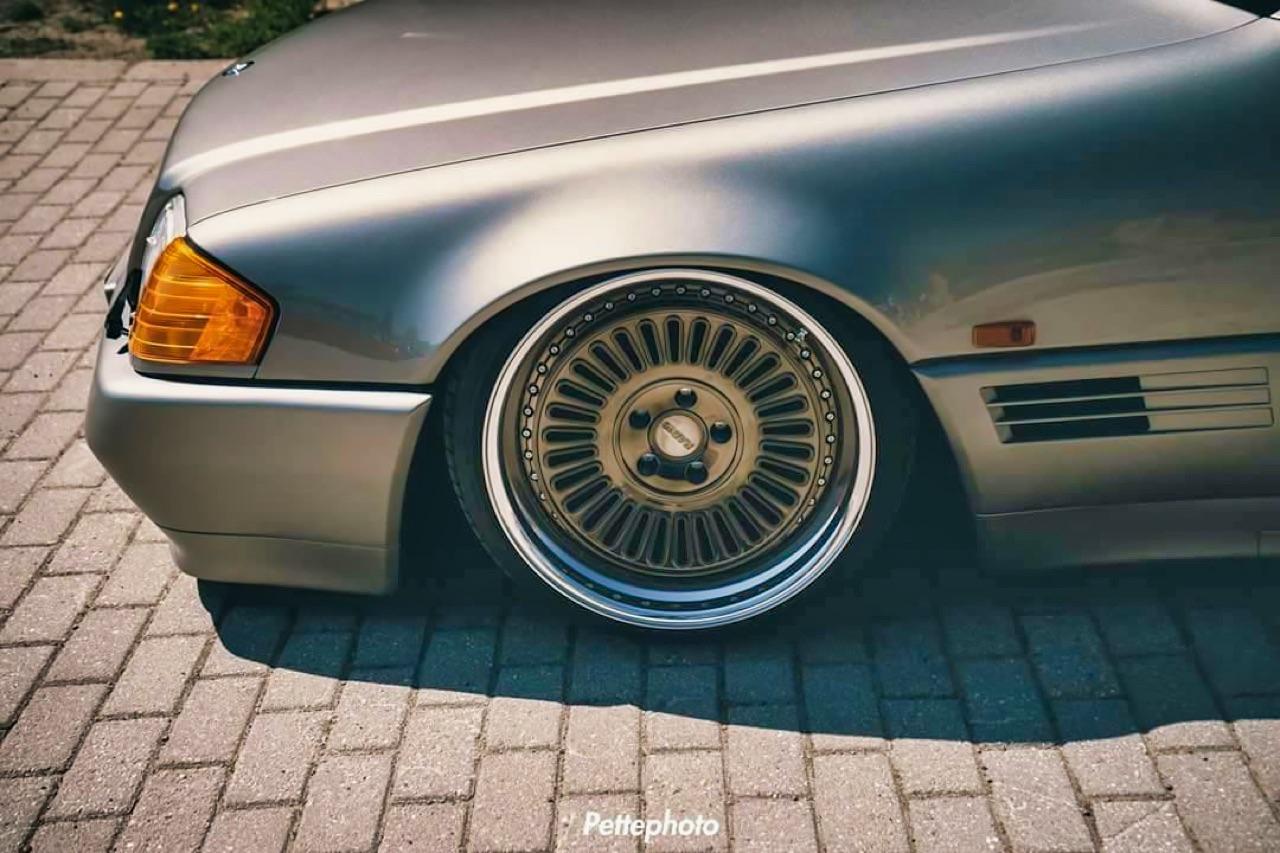 Bagged Mercedes 500 SL - Faut qu'ça raye ! 6