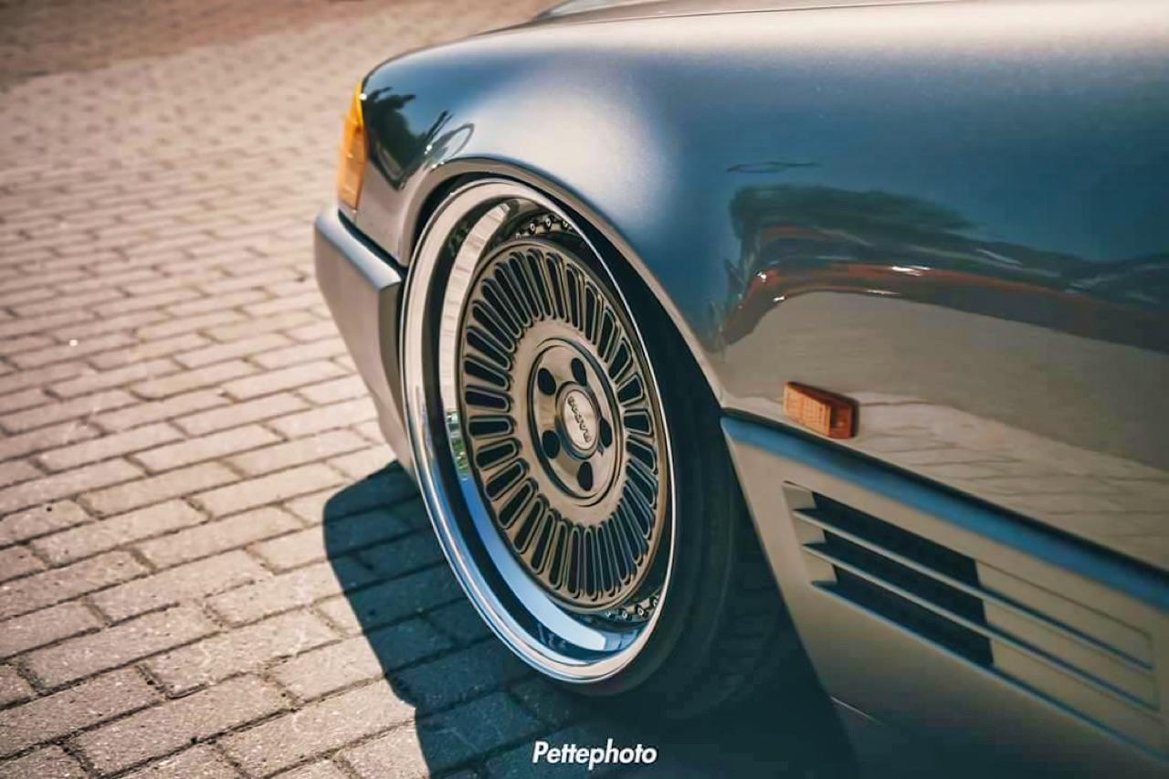 Bagged Mercedes 500 SL - Faut qu'ça raye ! 4