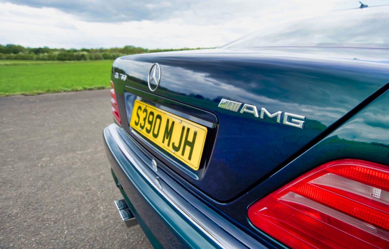 '98 Mercedes CL700 AMG... Simplement deuuuuuuux ! 7