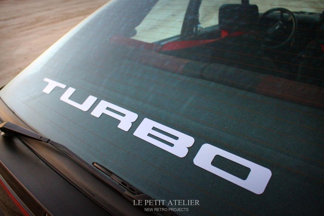 '85 R11 Turbo - Youg'attitude ! 5