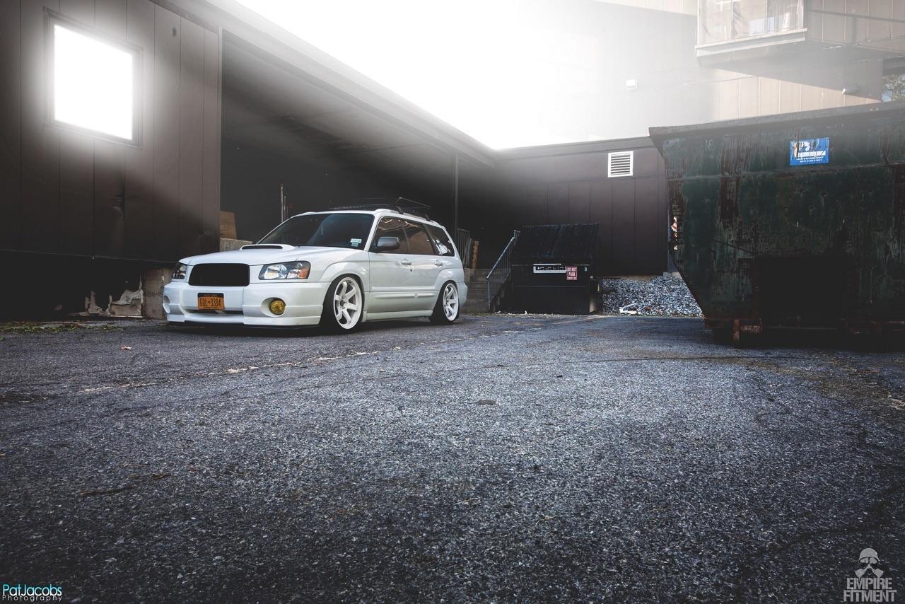 Subaru Forester 2.5 XT Sport - Slammed family ! 2