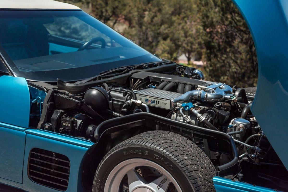 Chevrolet Callaway Corvette Twin Turbo - RPO B2K. 5