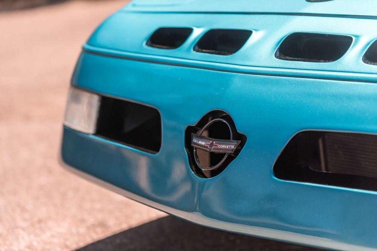Chevrolet Callaway Corvette Twin Turbo - RPO B2K. 2