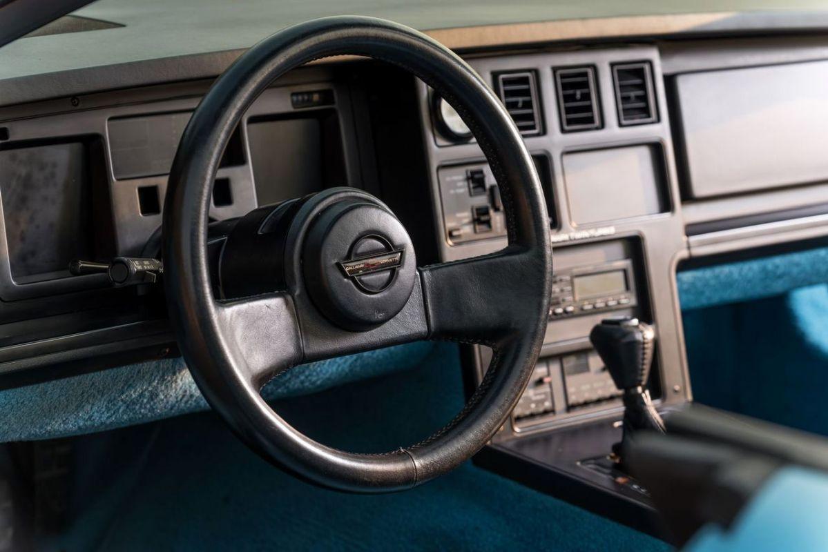 Chevrolet Callaway Corvette Twin Turbo - RPO B2K. 4