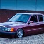 Bagged Mercedes 190 Avantgarde Rosso - Une occasion rare !