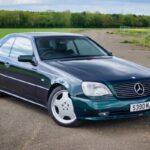 '98 Mercedes CL700 AMG... Simplement deuuuuuuux !