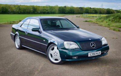 '98 Mercedes CL700 AMG… Simplement deuuuuuuux !