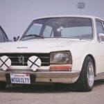 Slammed Peugeot 504... C'est loin l'Indonésie ?!