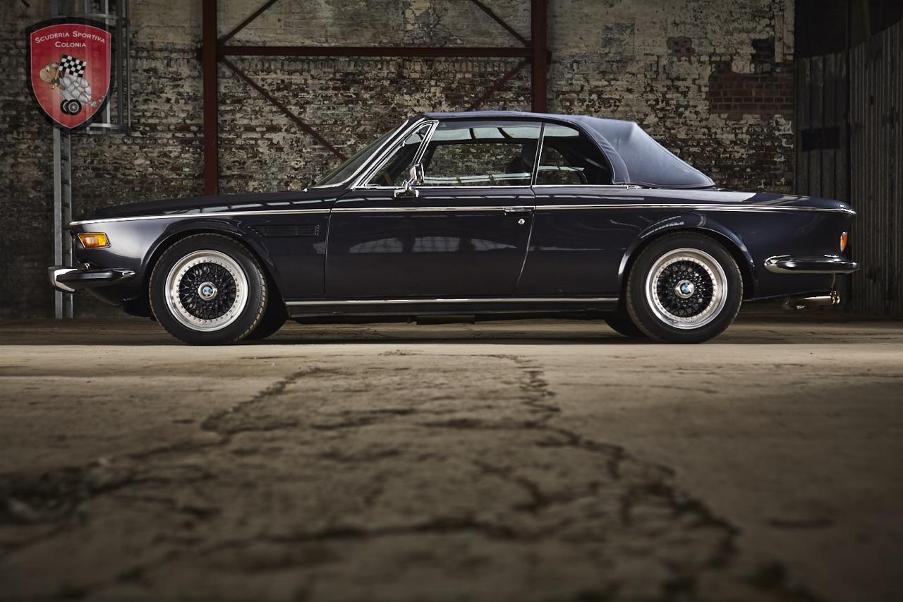 Cabriolet BMW E9 4.5 CSi Turbo... Quand Jürgen Dreschl se lâche ! 3