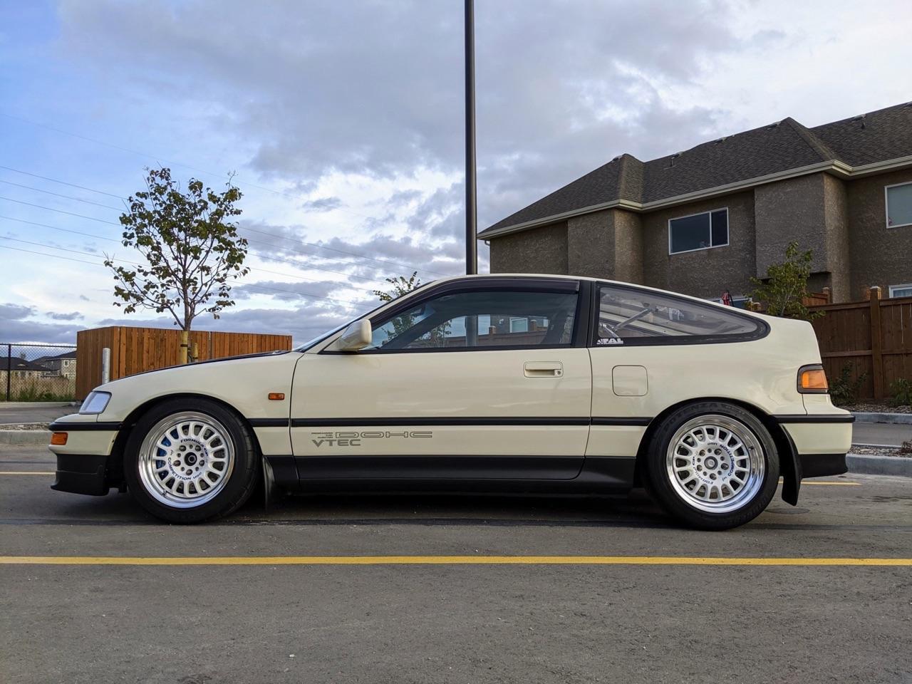 '90 Honda CRX SiR - Parfaite...! 4
