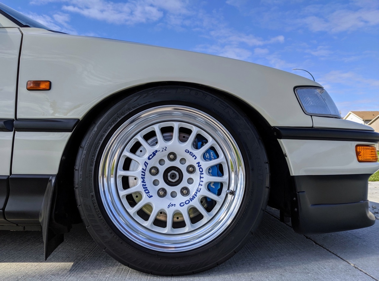 '90 Honda CRX SiR - Parfaite...! 6