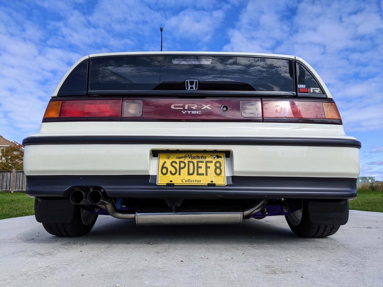 '90 Honda CRX SiR - Parfaite...! 3