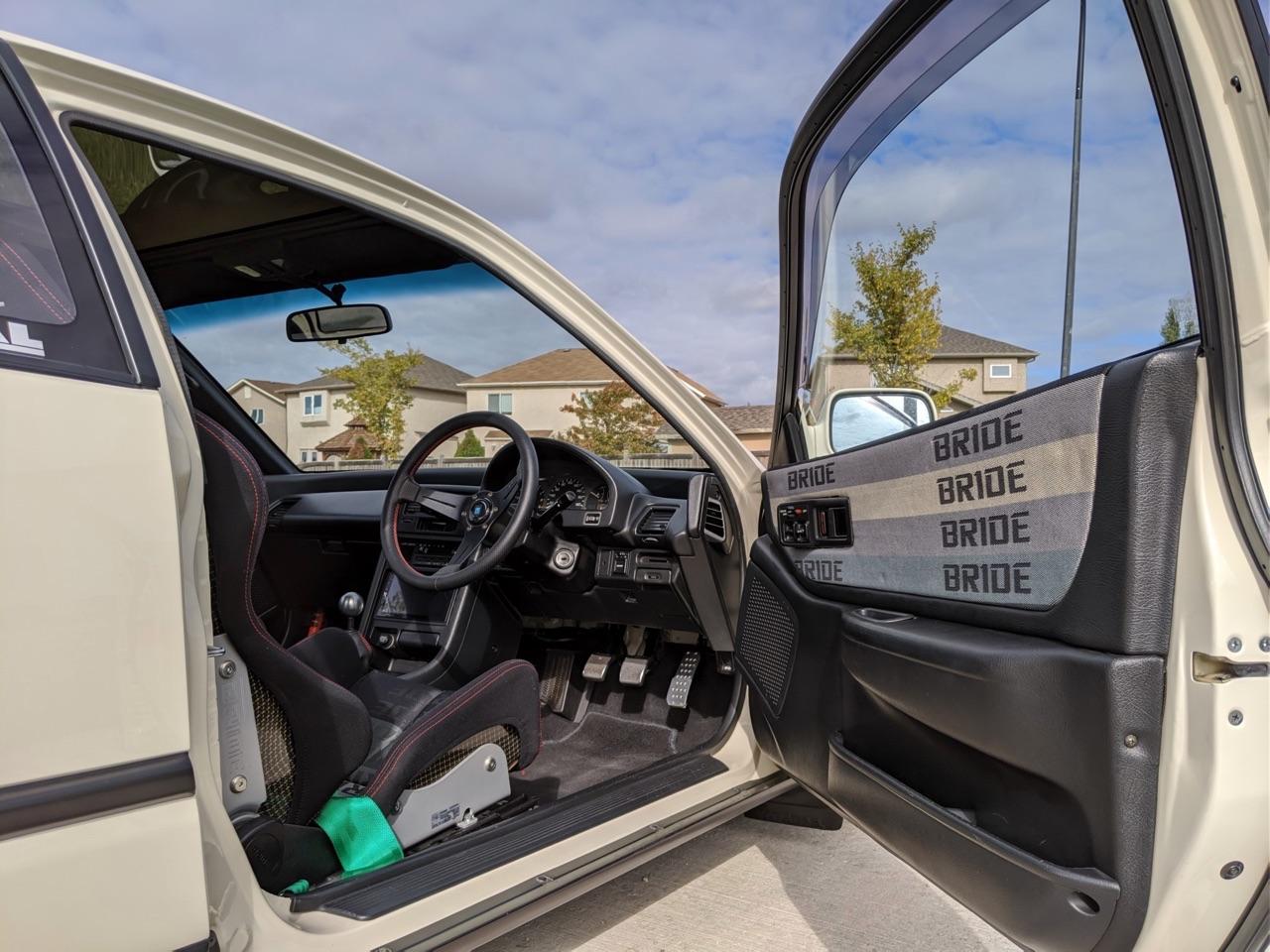 '90 Honda CRX SiR - Parfaite...! 7
