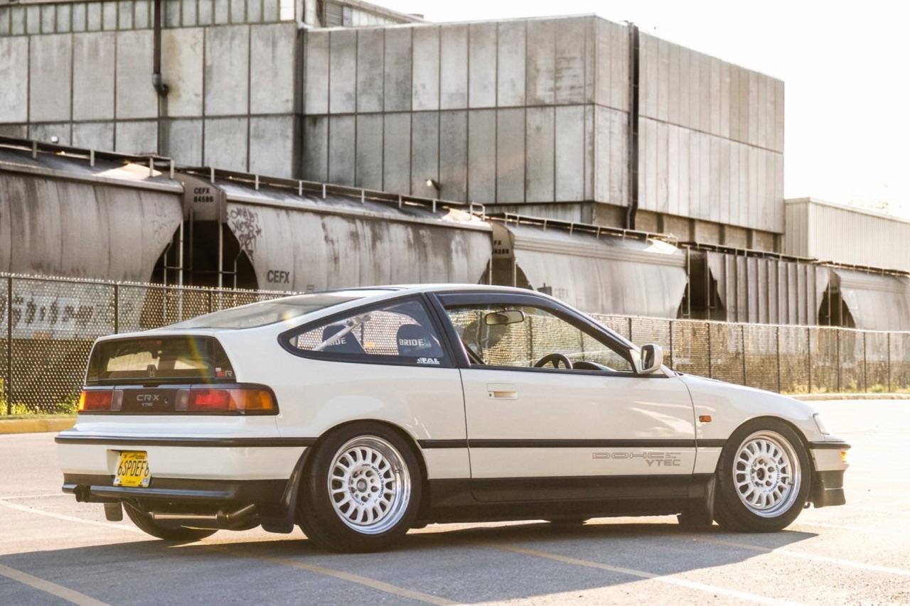 '90 Honda CRX SiR - Parfaite...! 8