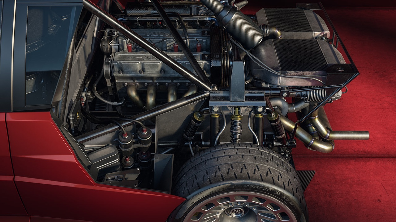 Lancia Delta S4 Restomod... oui, même elle ! 3