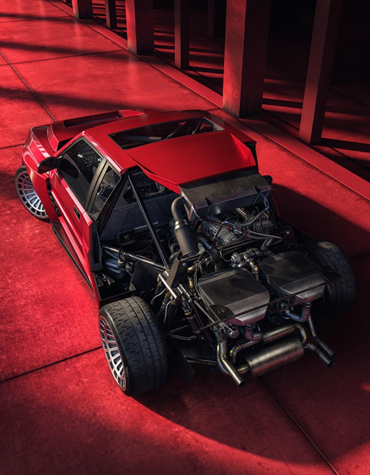 Lancia Delta S4 Restomod... oui, même elle ! 5