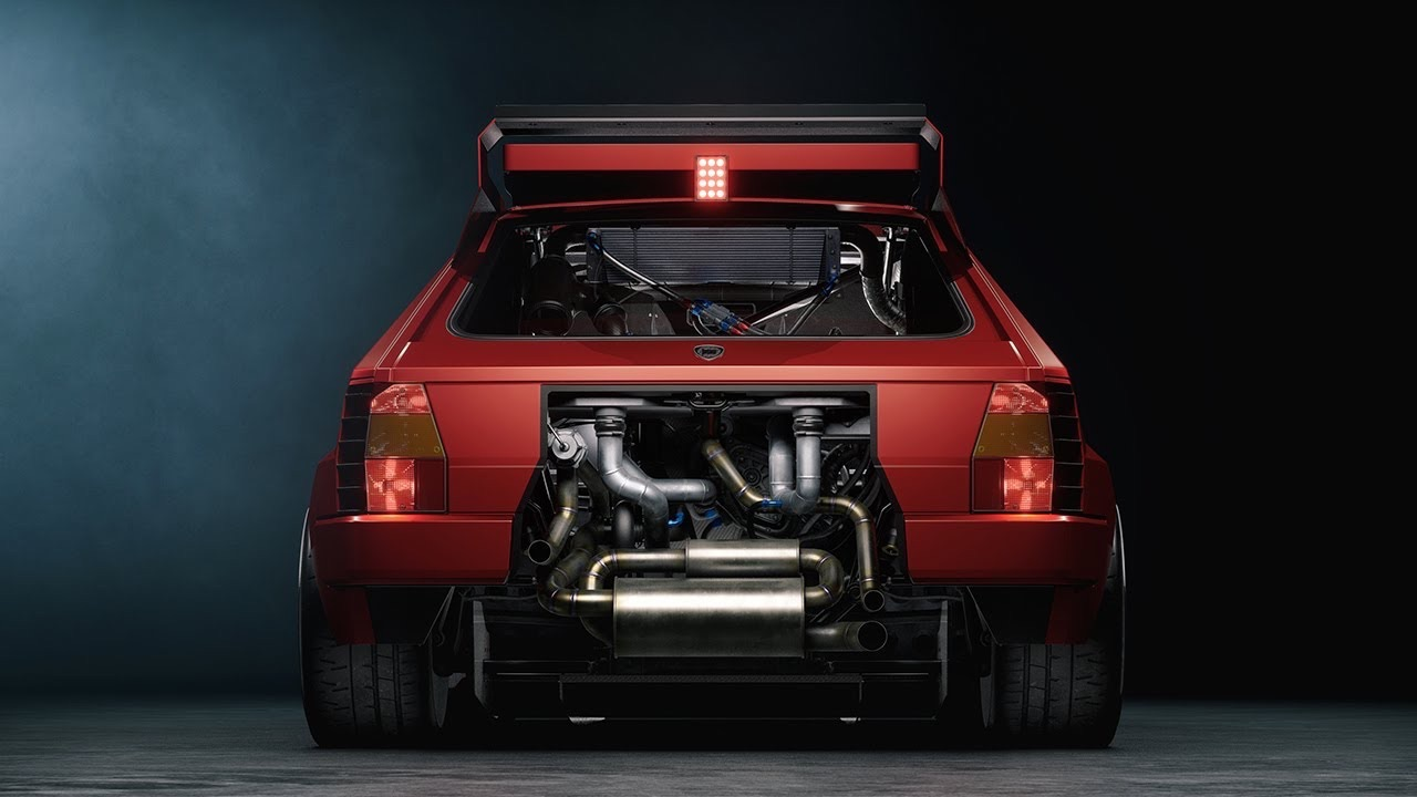 Lancia Delta S4 Restomod... oui, même elle ! 2