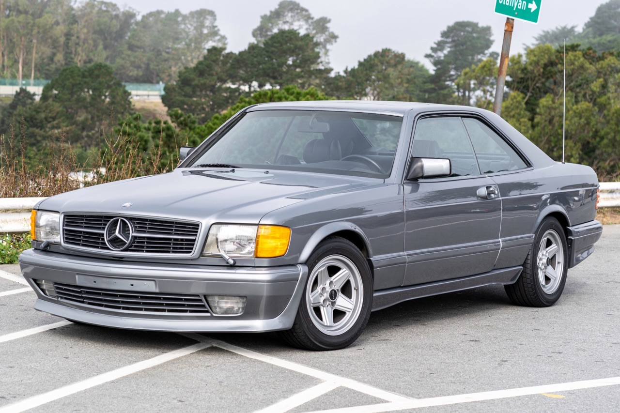 '88 Mercedes 560 SEC AMG - Full options... pour quoi faire ? 9