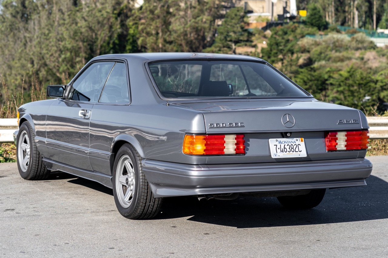 '88 Mercedes 560 SEC AMG - Full options... pour quoi faire ? 8