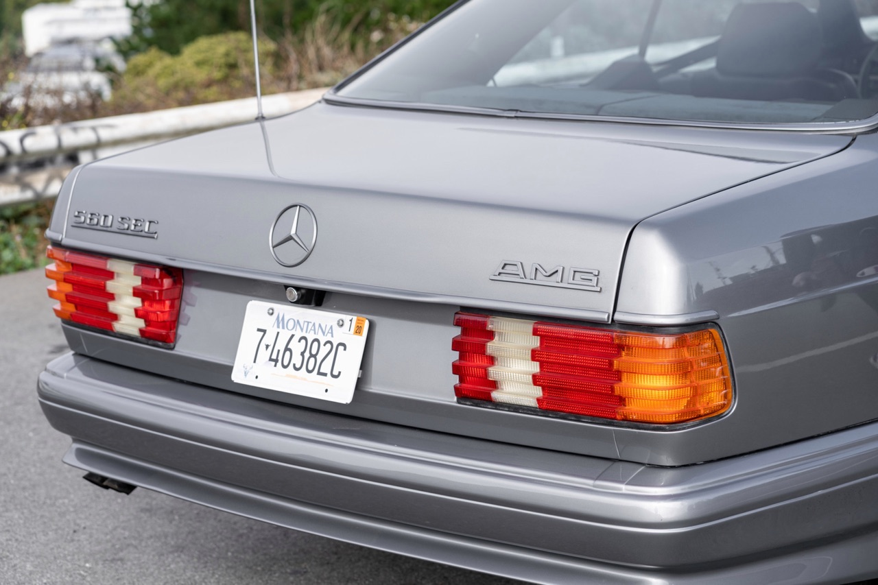 '88 Mercedes 560 SEC AMG - Full options... pour quoi faire ? 4