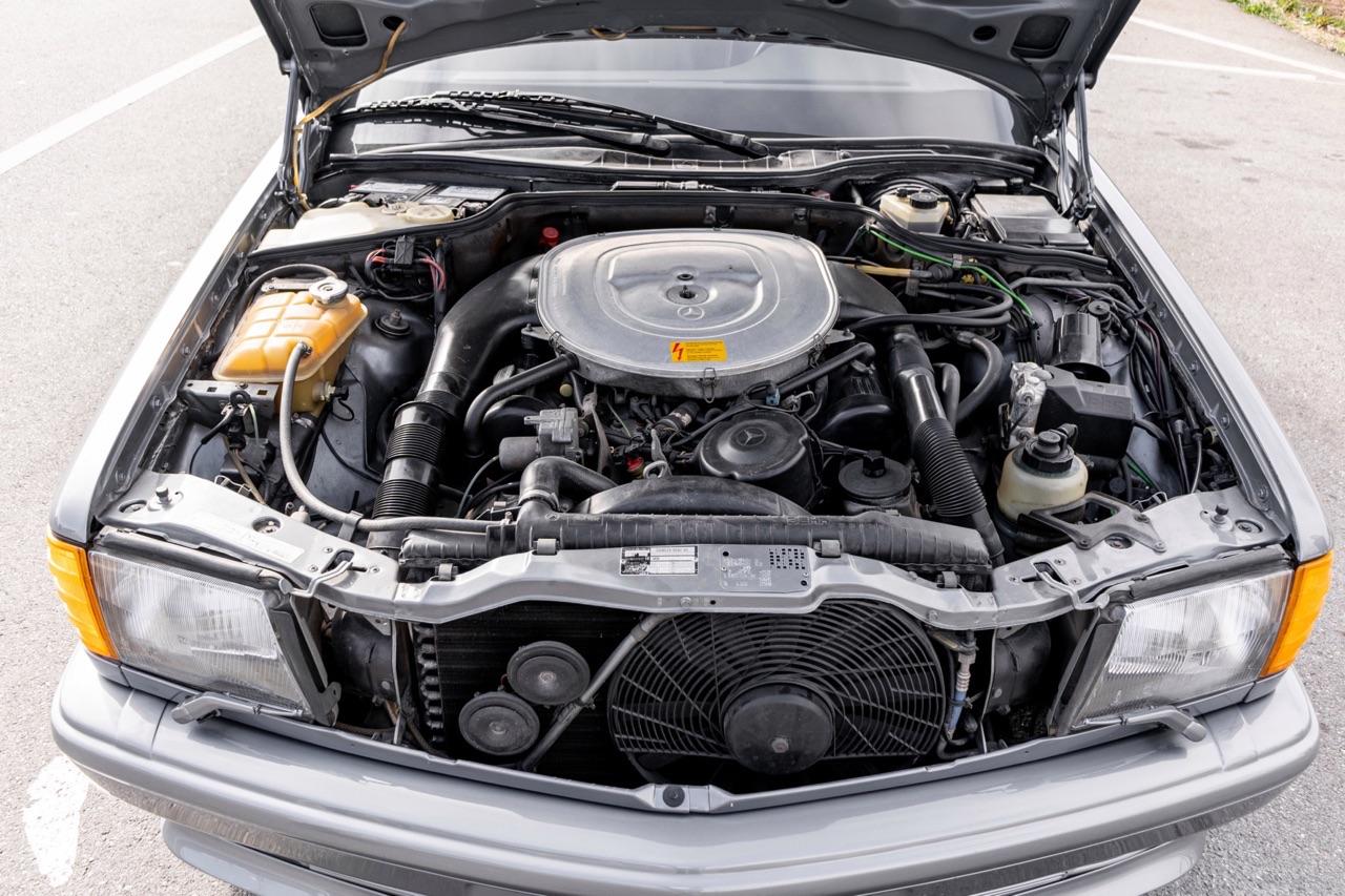 '88 Mercedes 560 SEC AMG - Full options... pour quoi faire ? 7