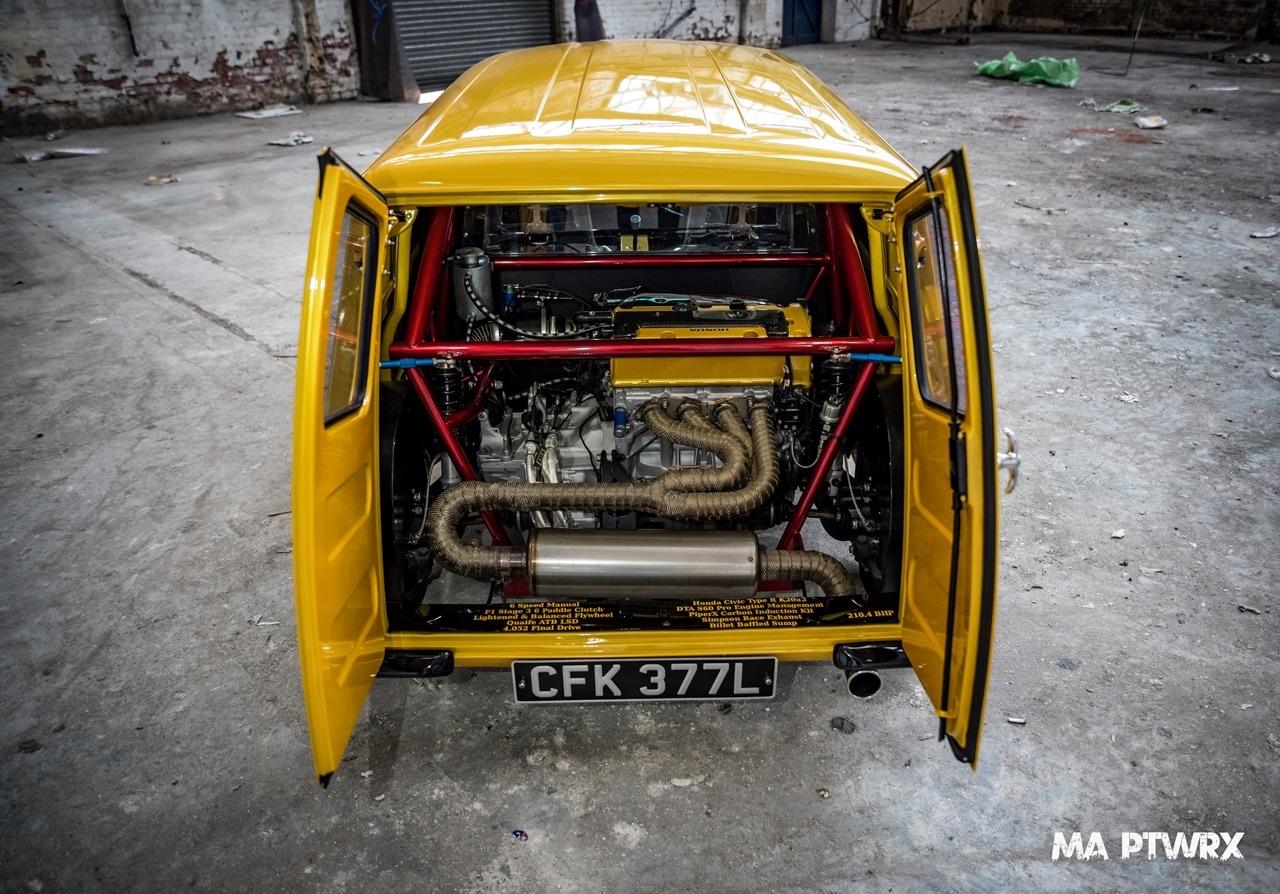 Mini Type R... Here comes the Vtec Van ! 9
