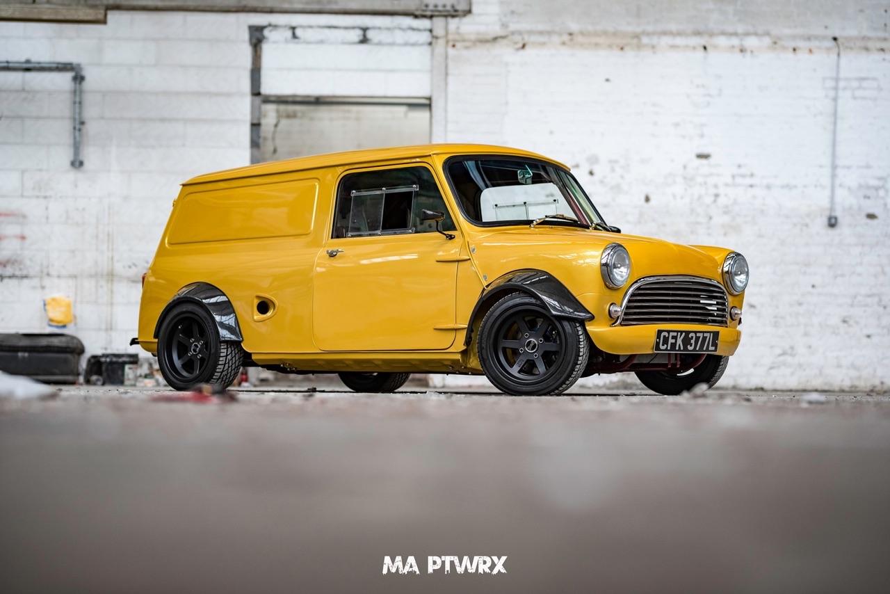Mini Type R... Here comes the Vtec Van ! 1