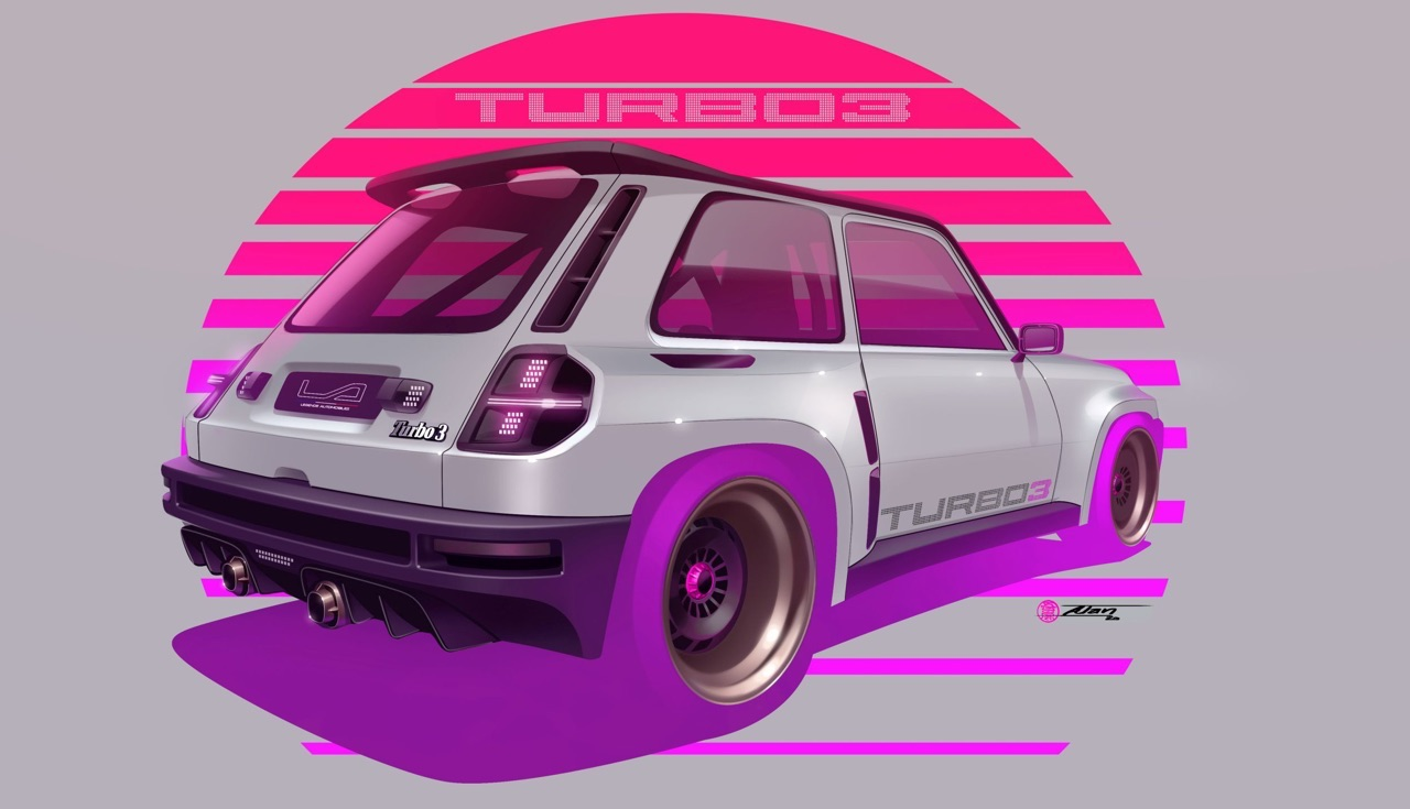 R5 Turbo 3 by Legende Automobiles - The French Touch ! 2