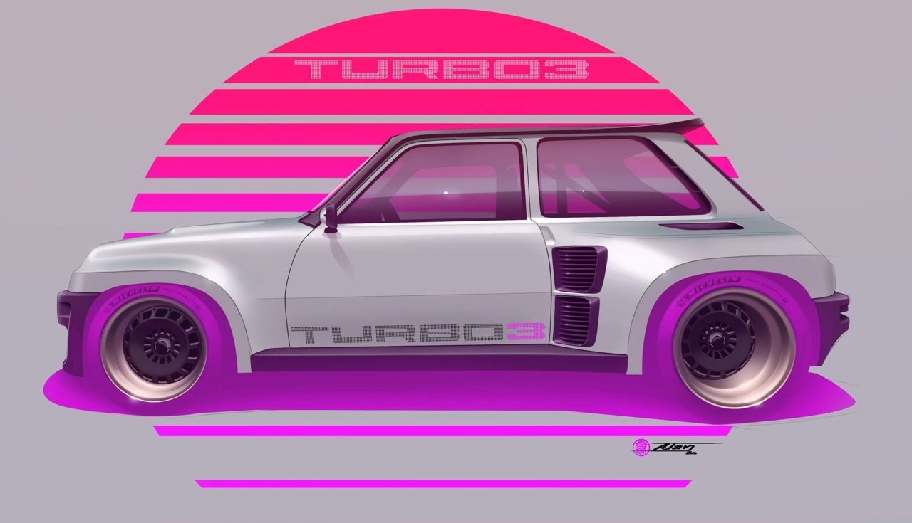 R5 Turbo 3 by Legende Automobiles - The French Touch ! 3