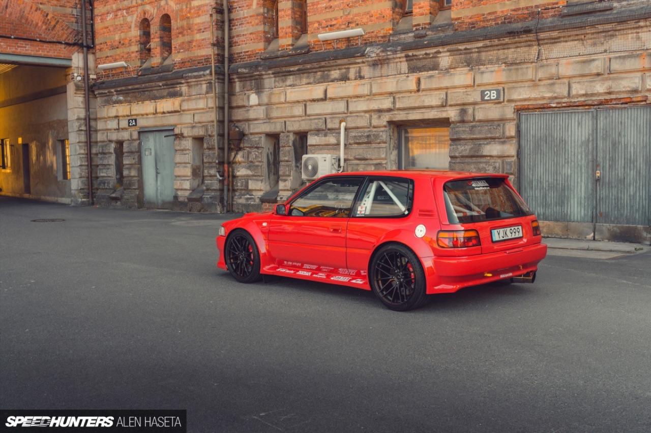 Toyota Corolla AE92 : Propu et 2JZ... en mode street legal ! 3