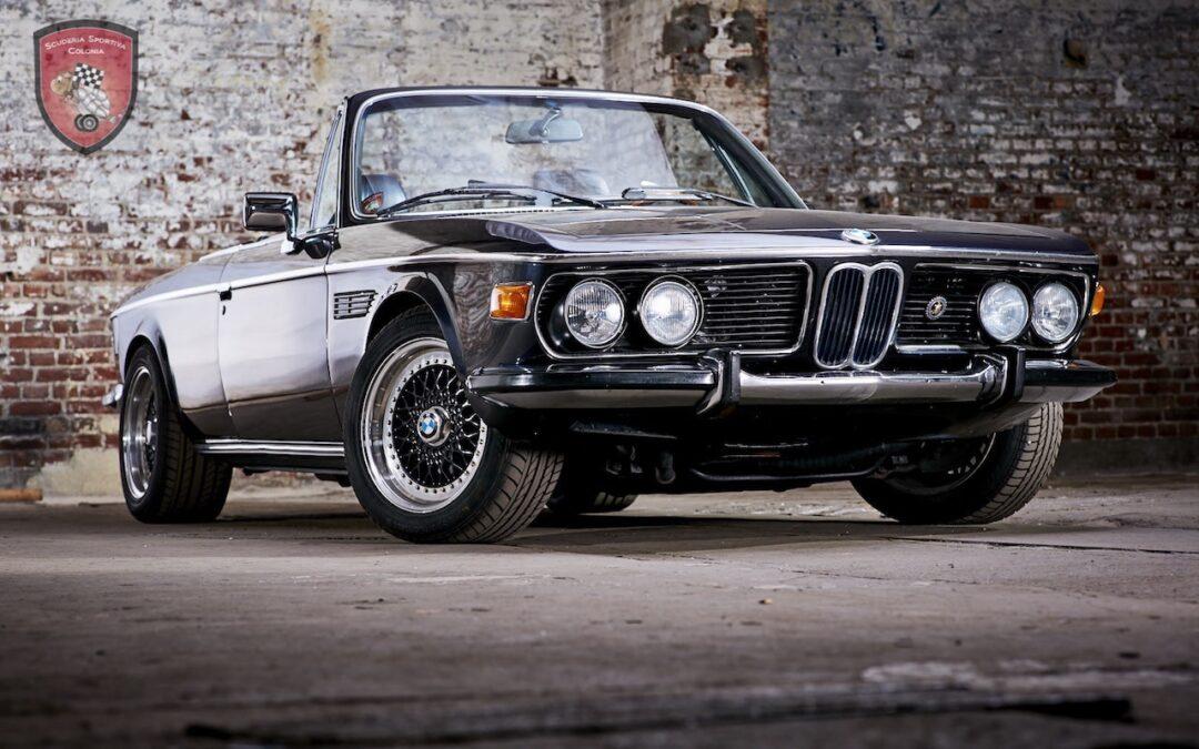 Cabriolet BMW E9 4.5 CSi Turbo… Quand Jürgen Dreschl se lâche !