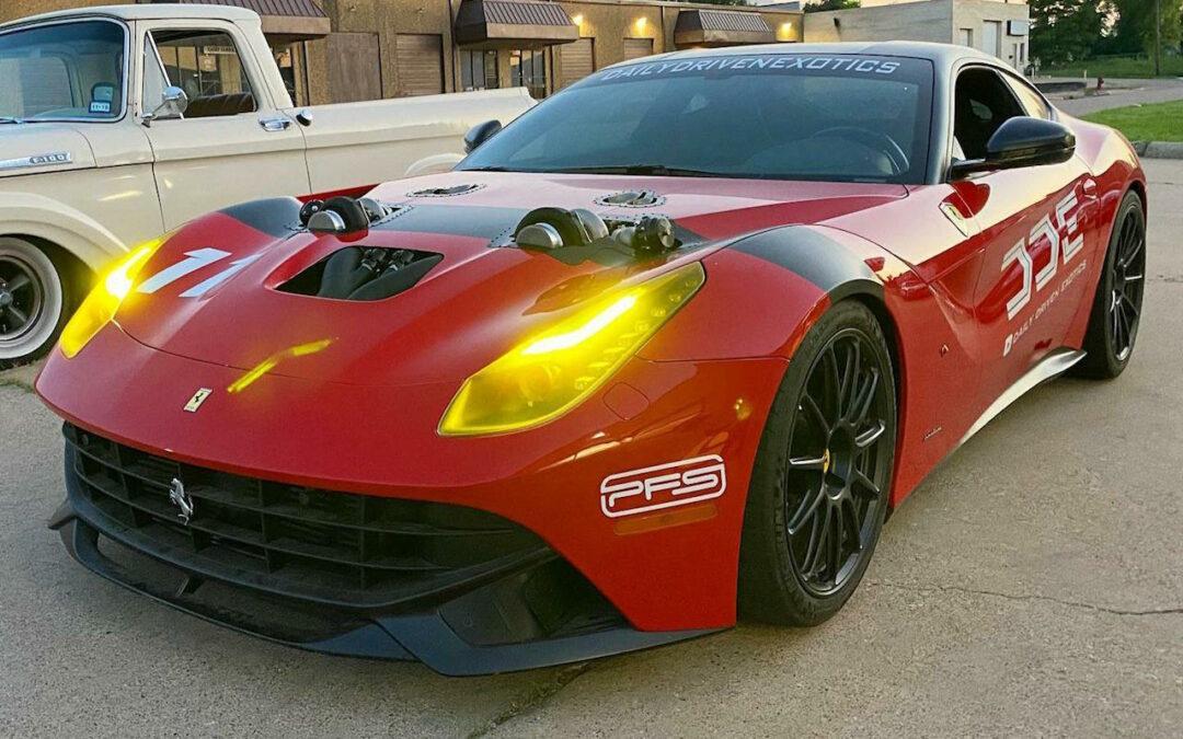 Ferrari F12 Biturbo – Quand Aaron Kaufman et Damon Fryer se fâchent !