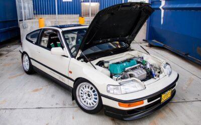 '90 Honda CRX SiR – Parfaite…!