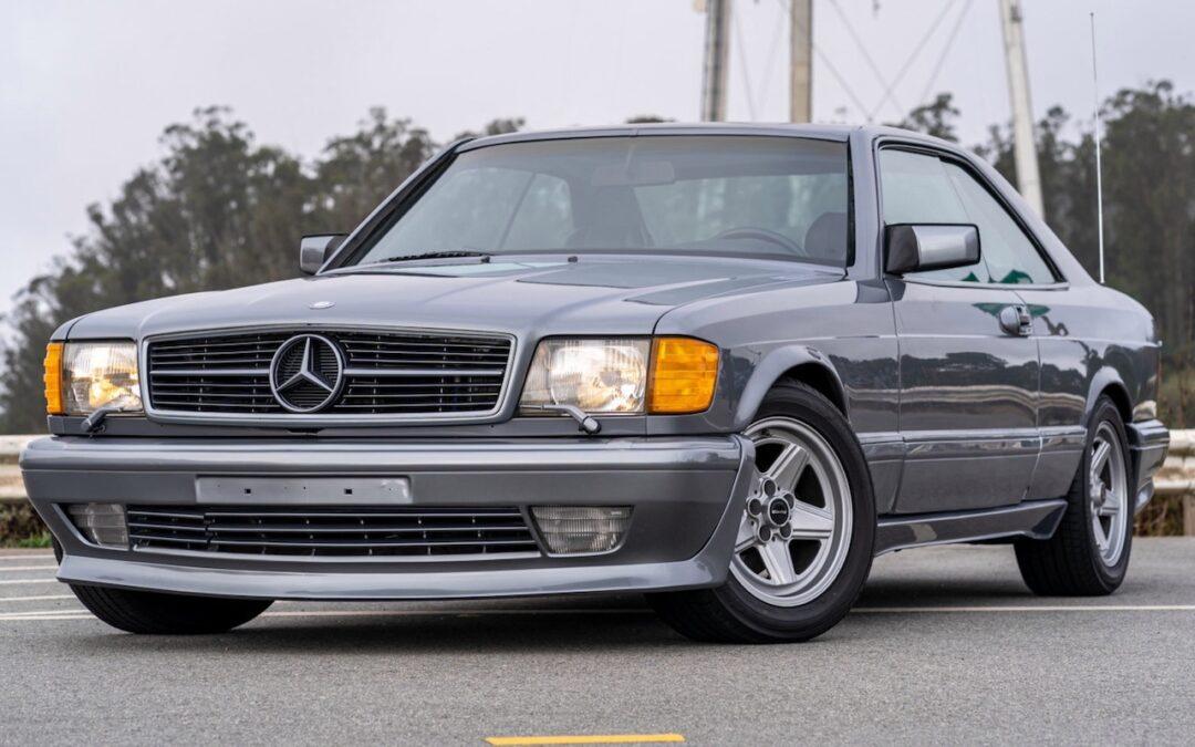 '88 Mercedes 560 SEC AMG – Full options… pour quoi faire ?