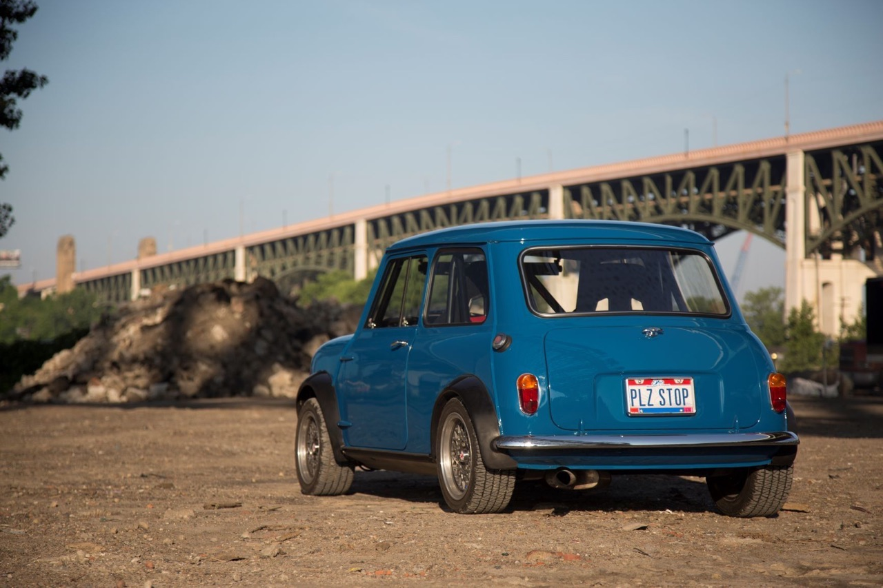 '62 Austin Mini Cooper Vtec... logique ! 12