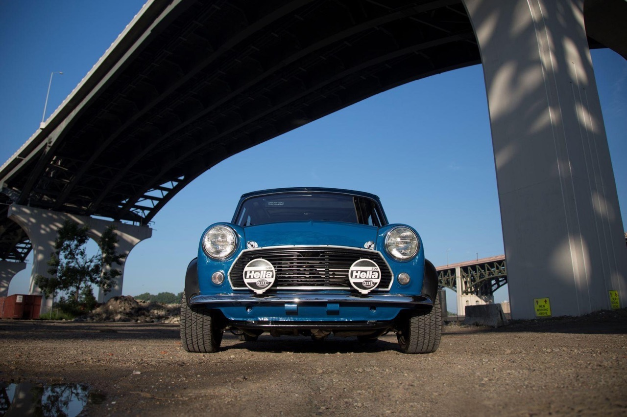 '62 Austin Mini Cooper Vtec... logique ! 2