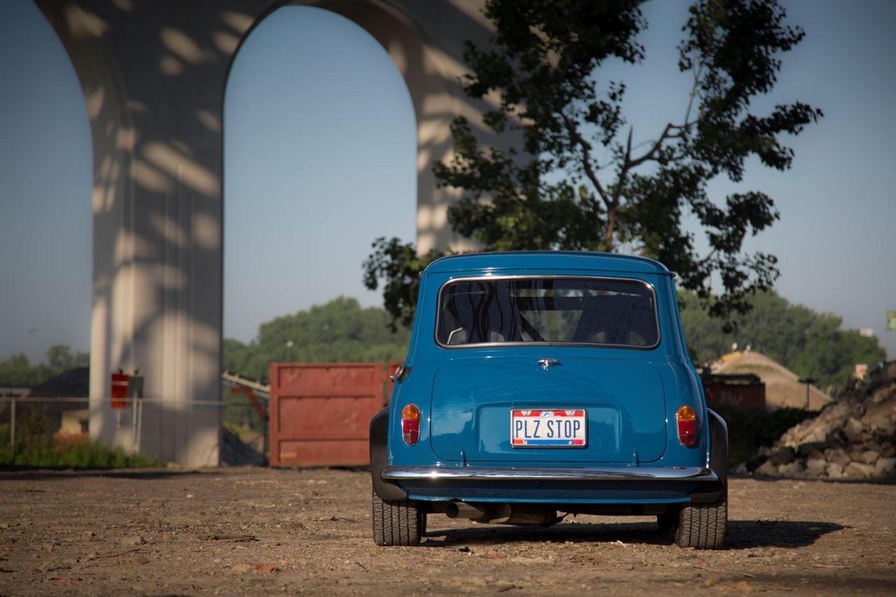 '62 Austin Mini Cooper Vtec... logique ! 3