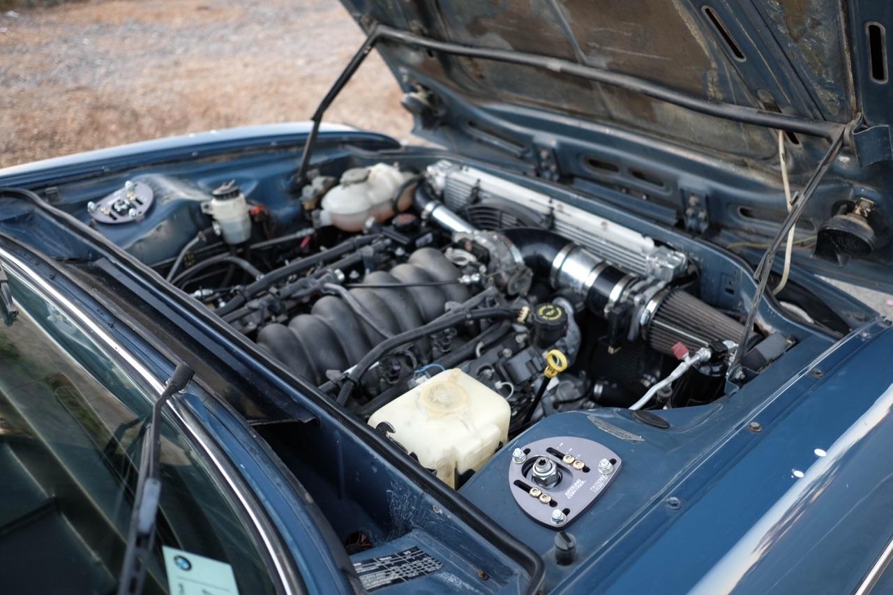 BMW Bavaria en V8 LS1 - Barn find ! 6