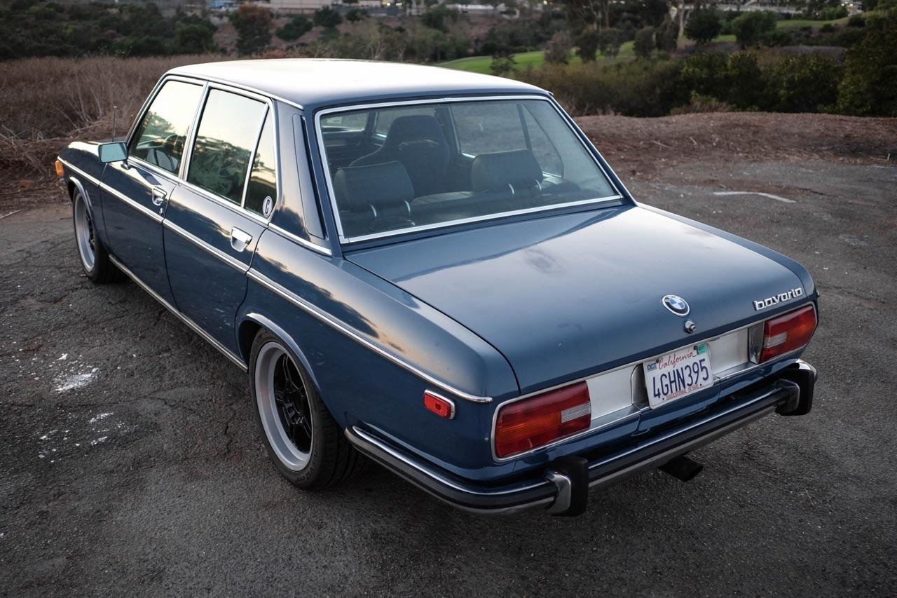 BMW Bavaria en V8 LS1 - Barn find ! 1