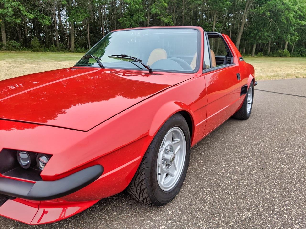 Fiat X1/9 Vtec - Restomod... al dente ! 5
