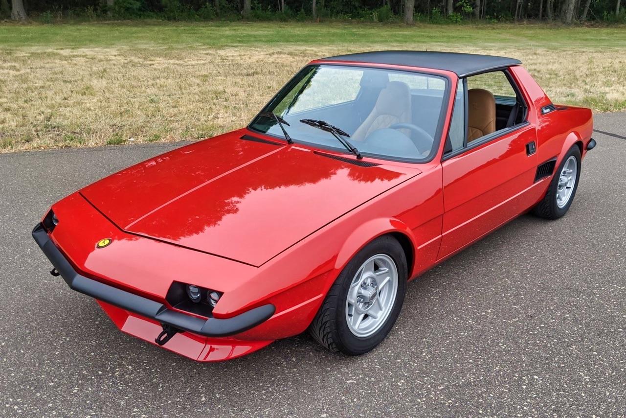 Fiat X1/9 Vtec - Restomod... al dente ! 8