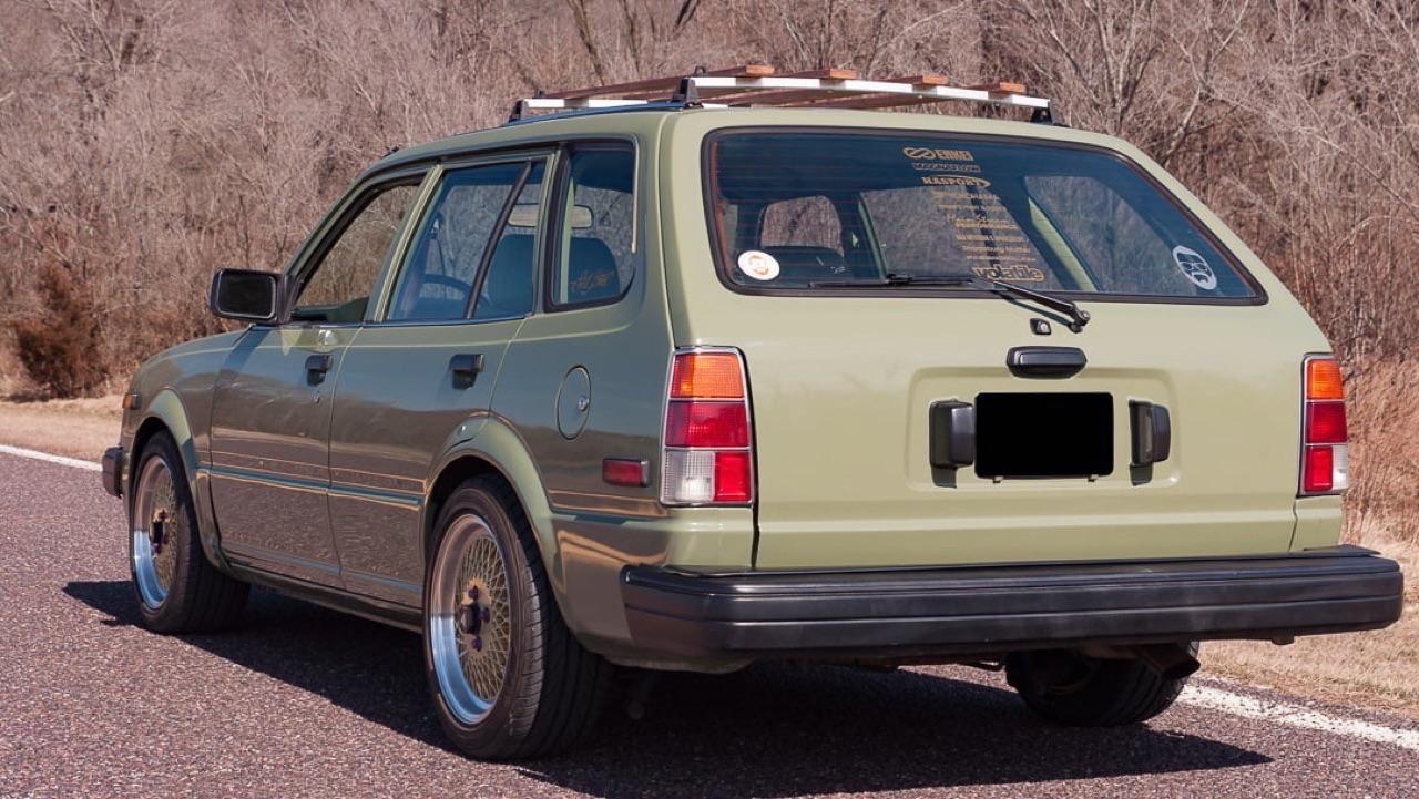 '83 Honda Civic Break - Vous avez dit originale ?! 2